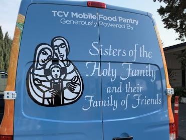 Tri-City Volunteers Mobile Pantry Van