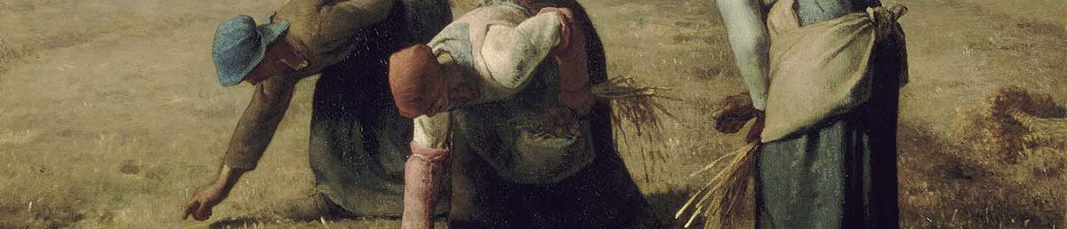 The Gleaners, by Jean-François Millet, 1857