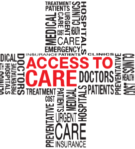 Graphic: Healthcare Access Issues